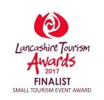 Lancashire Tourism Awards 2017 finalist logo SMALL TOURISM EVENT AWARD copy
