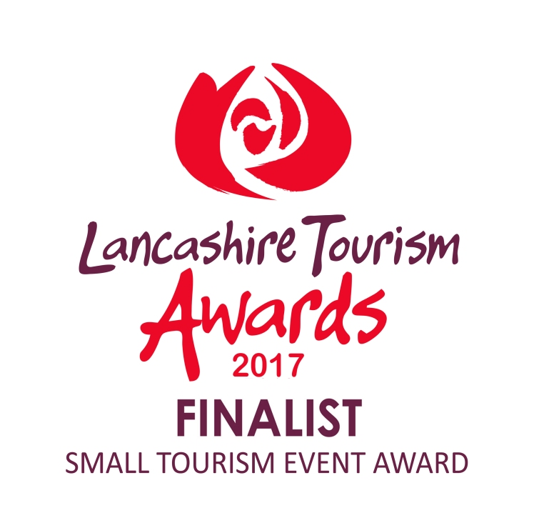 Lancashire Tourism Awards 2017 finalist logo SMALL TOURISM EVENT AWARD copy