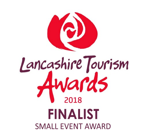 Lancashire Tourism Awards 2018 finalist logo SMALL EVENT AWARD